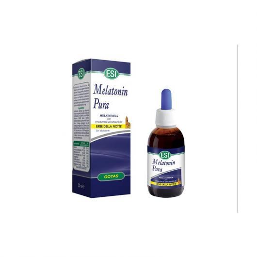 Melatonin pura con Erbe della Notte Esi, 50 ml