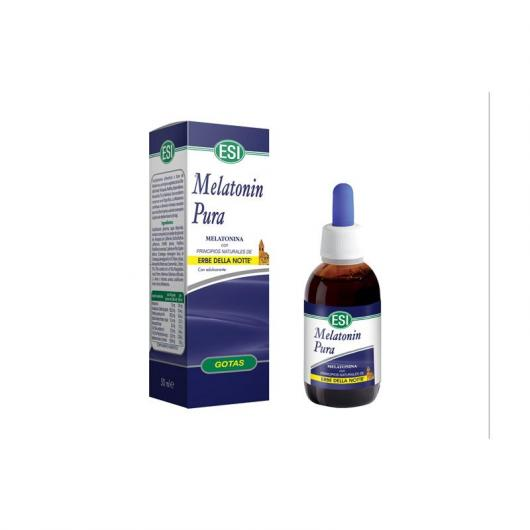 Melatonin pura con Erbe della Notte 1,9 mg Esi, 50 ml