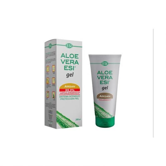 Aloe Vera Con Aceite Argan Esi, 200 ml