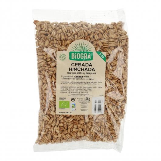 Cebada hinchada Sin Azúcar bio Biográ, 125 g