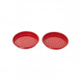 Piatto giochi di sabbia per bambini rosso Redecker, 15 cm diametro