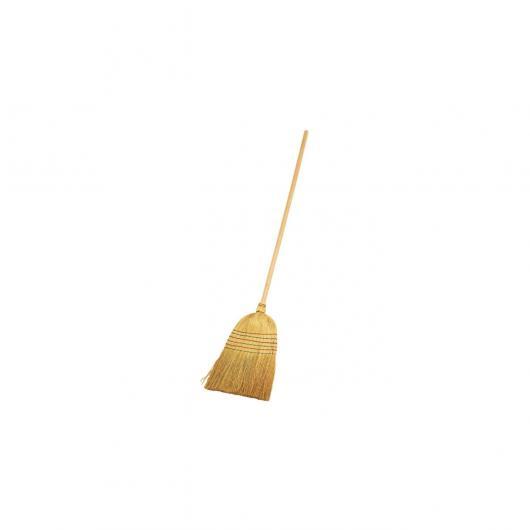 Escoba de paja de arroz  Redecker, 150cm