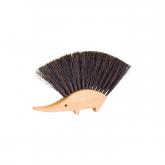 Spazzola per il tavolo, a forma di riccio Redecker, 11,5x14cm