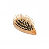 Spazzola per capelli, in legno e a forma di riccio Redecker