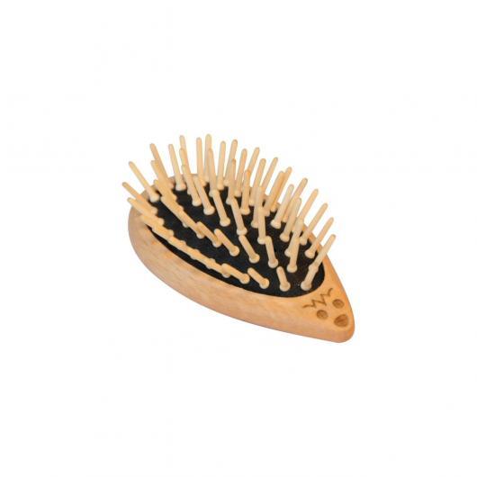 Cepillo de cabello, madera en forma de erizo Redecker
