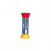 Clessidra, blu/gialla/rossa Redecker, 10 cm