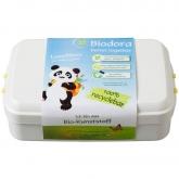 Contenitore alimentare bioplastico bianco Biodora, 12x18x5 cm