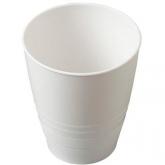Bicchiere bianco di bioplastica Biodora, 0.25 L