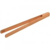 Pinza de cocinar de madera de cerezo Biodora, 30cm