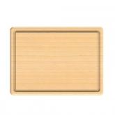 Tabla para cortar de madera de haya certificada Biodora, 30x20cm