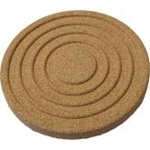 Sottopiatto di sughero Biodora, 19 cm diametro