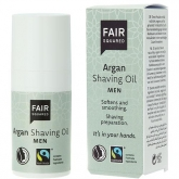 Fair Olio per Rasatura all'argan per uomo Fair Squared, 150ml