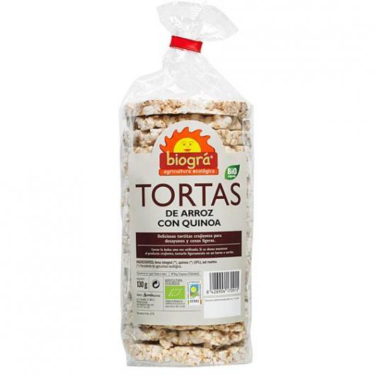 Tortas de Arroz y Quinoa 130g