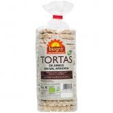Gallette di riso senza sali aggiunti Biográ, 130 g