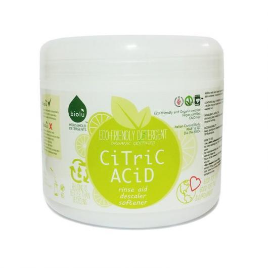 Suavizante BIO ácido cítrico Biolú, 450 g