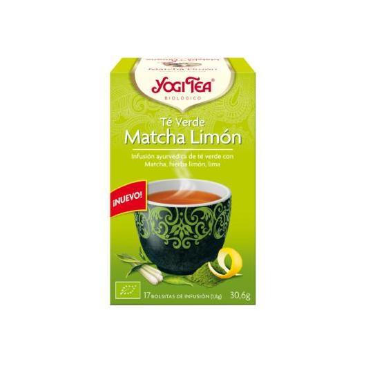 Yogi Tea BIO Té verde e Matcha limone, 17 bustine
