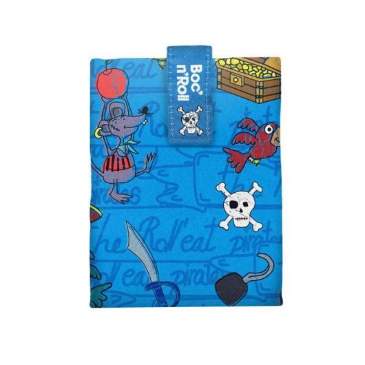 Porta panini Boc'n'Roll Kids, fantasia pirati blu