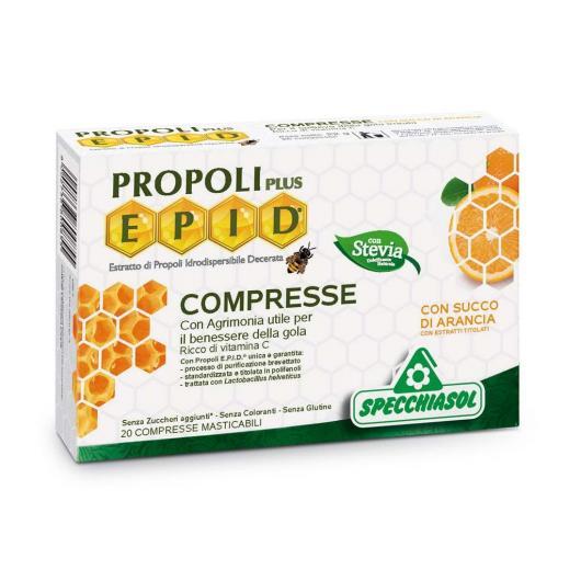 Epid Arancia Specchiasol, 20 compresse