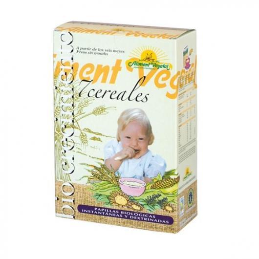 Papilla de 7 cereales con miel Aliment Vegetal, 400 g