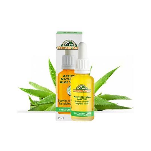 Aceite De Aloe Vera suaviza e hidrata Corpore Sano, 30 ml