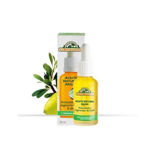 Aceite Argán antioxidante y regenera, Corpore Sano, 30 ml
