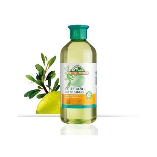 Gel Doccia Olio di Argán e Aloe Vera nutritivo e ristrutturante Corpore Sano, 500 ml
