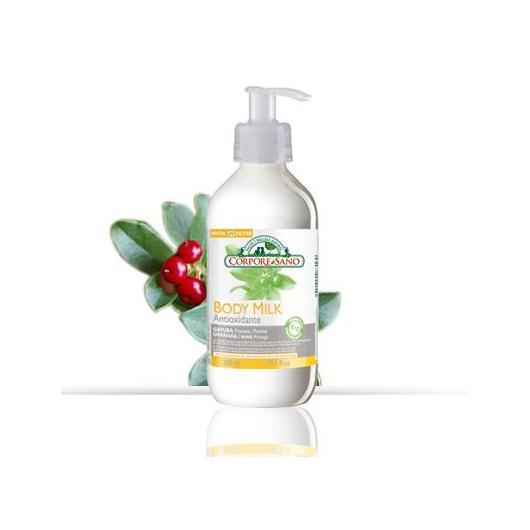 Body Milk Gayuba y Granada antiox y previene manchas, Corpore Sano, 300 ml
