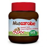Crema de ALgarroba y Avellanas Nuscobio, 400 g