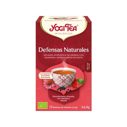 Yogi Tea Bio Defese Naturali, 17 bustine