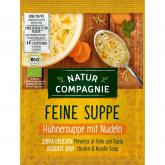 Sopa de Pollo con Fideos Natur Compagnie, 40 gr