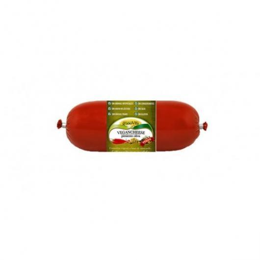 Queso vegano Vegancheese pimiento y oliva Granovita, 200 g
