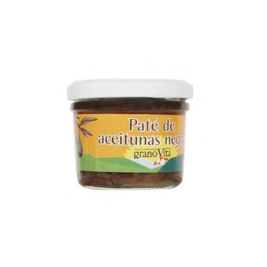 Paté Aceitunas Negras granoVita, 90 gr