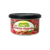 Paté Pimiento Almendra Bio granoVita, 125 gr