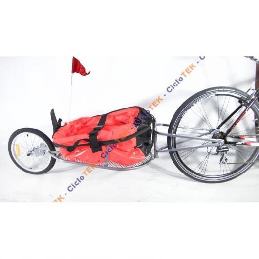 Remolque cicloturismo Ciclotek
