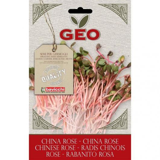 Semillas germinado Rabanito rosa, bavicchi GEO 20g