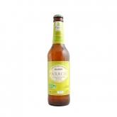 Birra chiara di farro e limone Spelty Moulin des Moines senza alcol, 33 cl