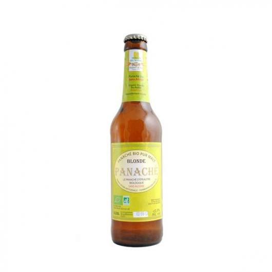 Cerveza clara de espelta y limón Spelty Moulin des Moines sin alcohol, 33 cl