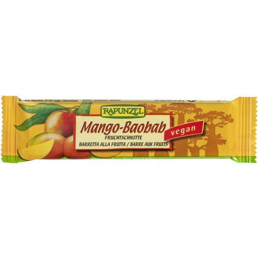 Barretta di Mango e Baobab Rapunzel 40 gr