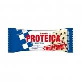 Barretta proteica Vaniglia e Cookies Nutrisport, 24 Unità