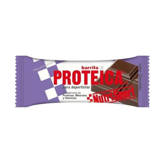 Barritas Protéicas Chocolate Nutrisport, 24 Unidades