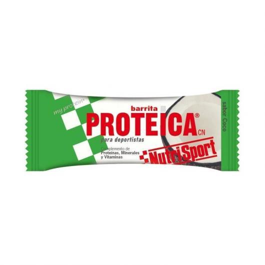 Barrette Proteiche Cocco Nutrisport, 24 unitá