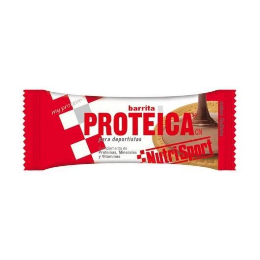 Barretta Proteica ai Biscotti Nutrisport, 24 Unitá