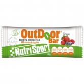 Outdoor Barretta Energetica Frutti Ropssi senza copertura Nutrisport, 20 Unitá