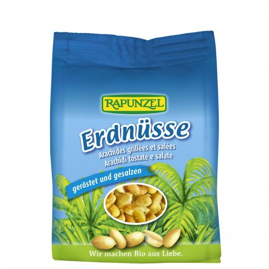 Arachidi Tostate salte Rapunzel 100 g