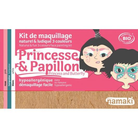 Kit maquillaje princesa & mariposa Namaki