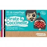 Kit trucco pirata e coccinella Namaki
