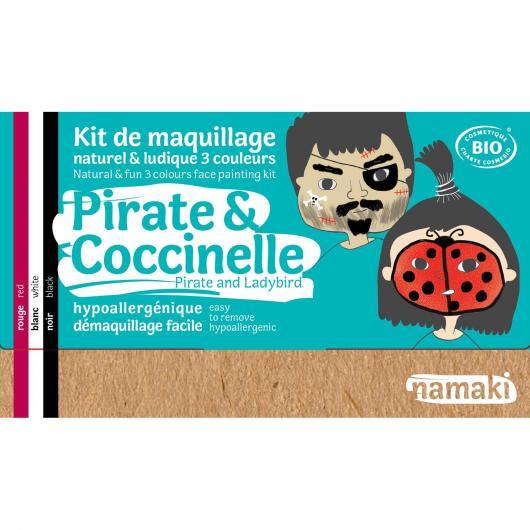 Kit maquillaje pirata y mariquita Namaki