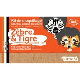 Kit trucco zebra e tigre Namaki