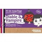 Kit trucco diavolo e vampiro Namaki