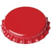 Tappi di 29 mm per bottiglie normali , Rosso - 1000 unitá